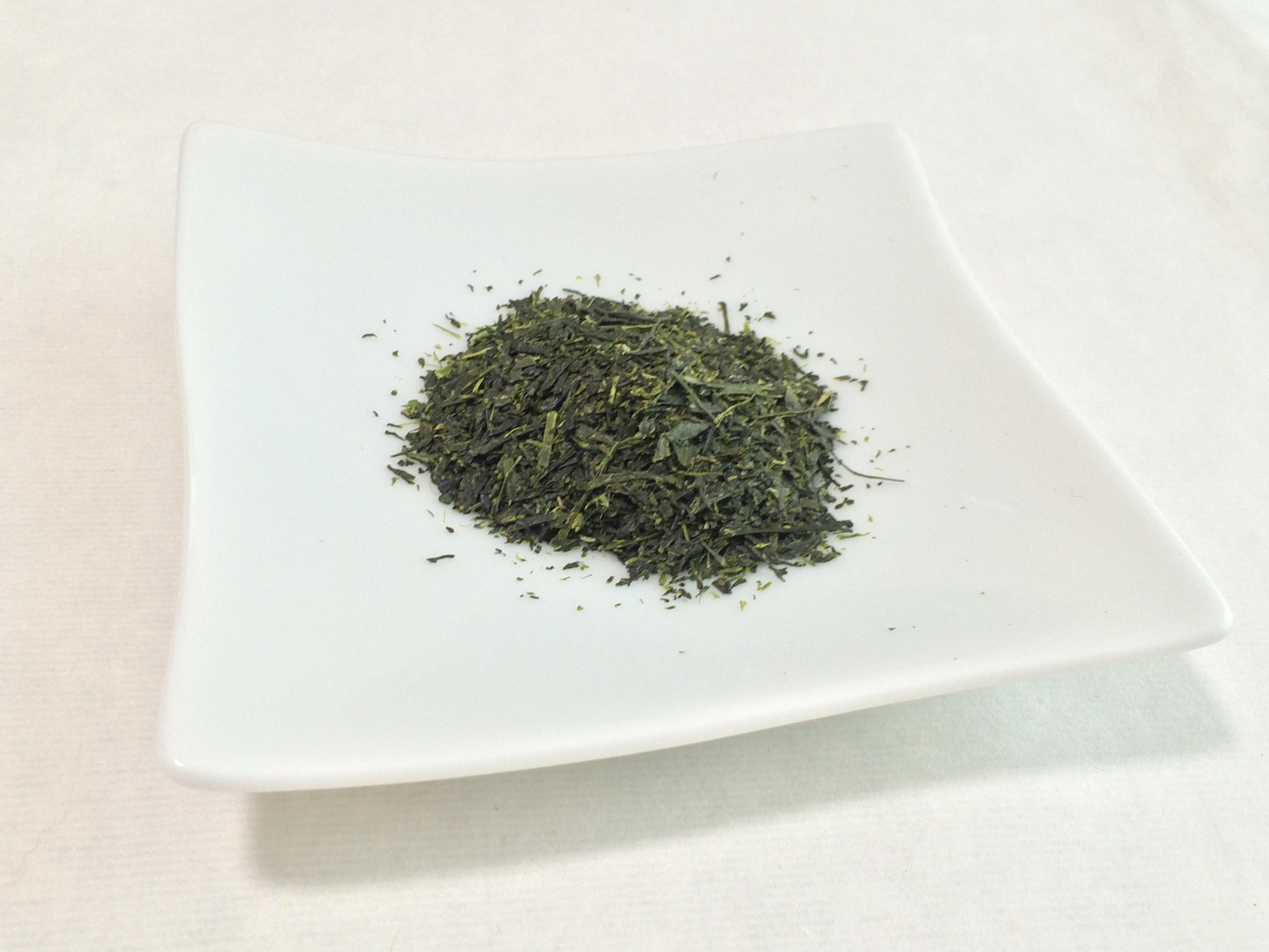 深蒸し茶葉