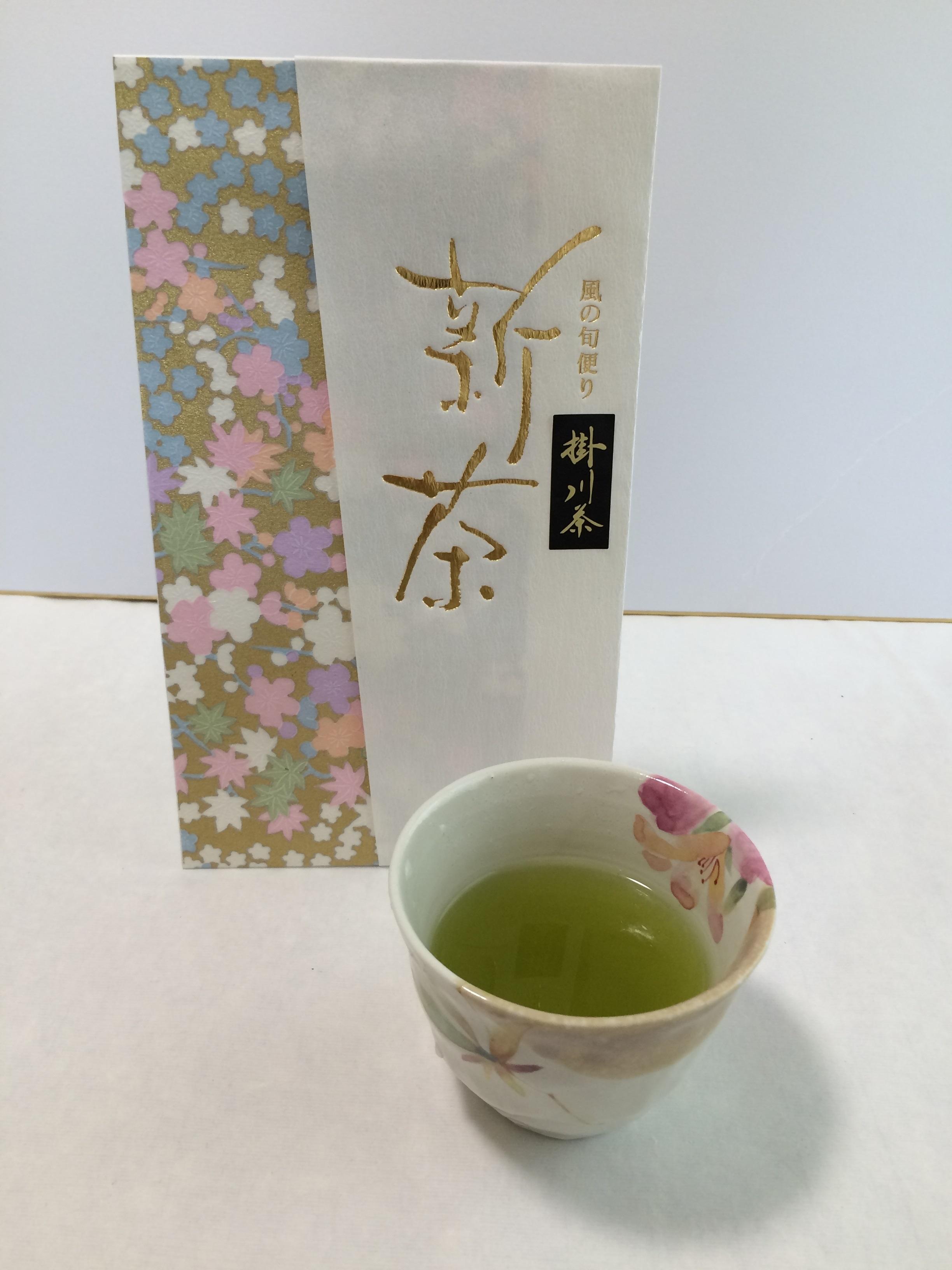 風の旬便り掛川茶新茶